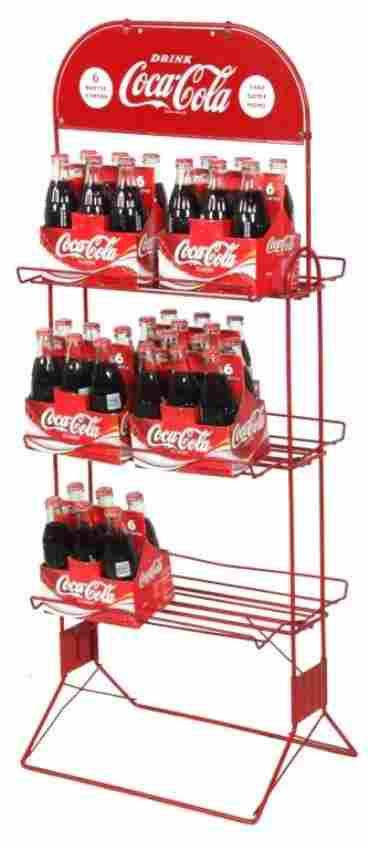 Vintage Coca-Cola Display Rack