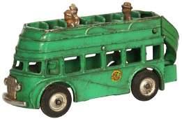 Arcade Cast Iron Double Decker Bus