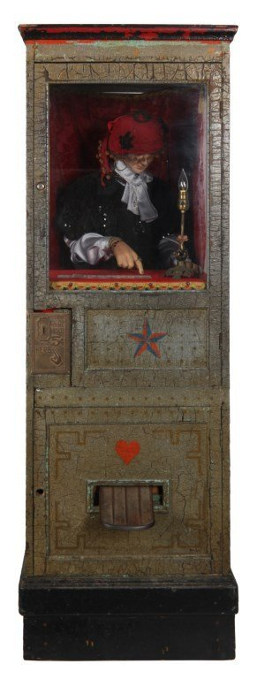 Princess Doraldina Coin-Op Fortune Teller Machine