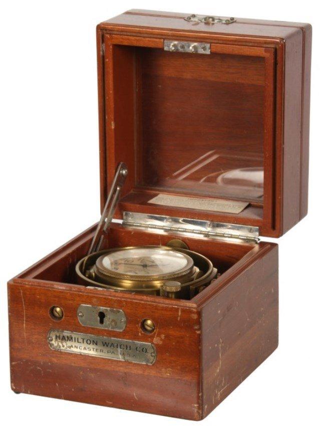 Hamilton Model 22 Ships Chronometer