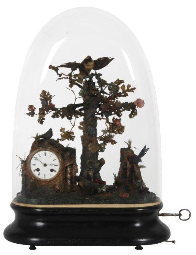 5 Bird Automaton Clock