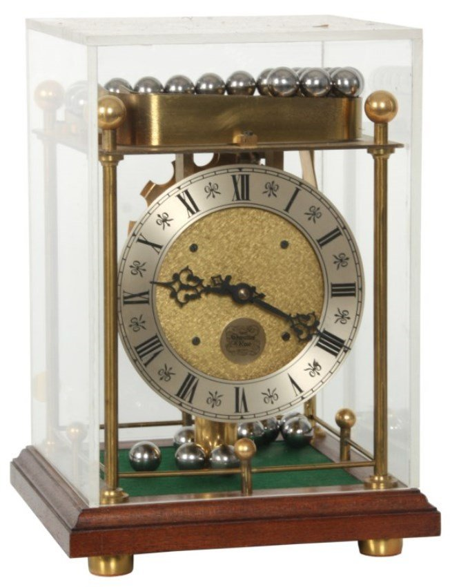 Thwaites & Reed Rolling Ball Clock