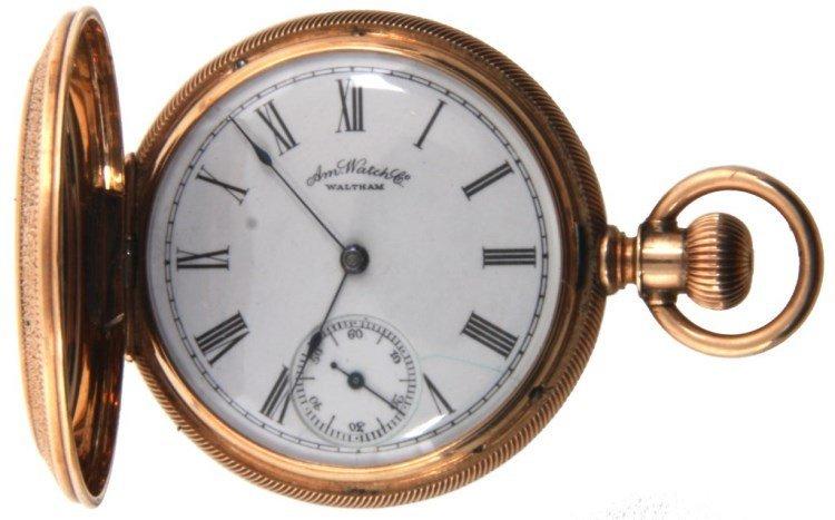 American Watch Co. 6 Size 13 Jewel Ladies Hunter