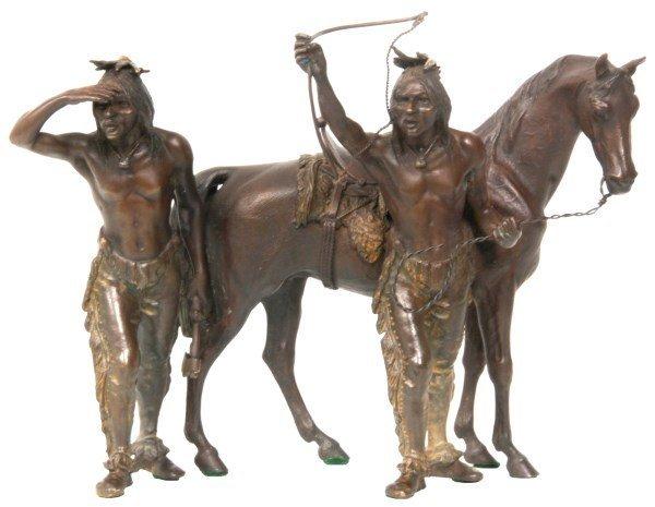 Kauba Indian Scout Bronze By Bergman