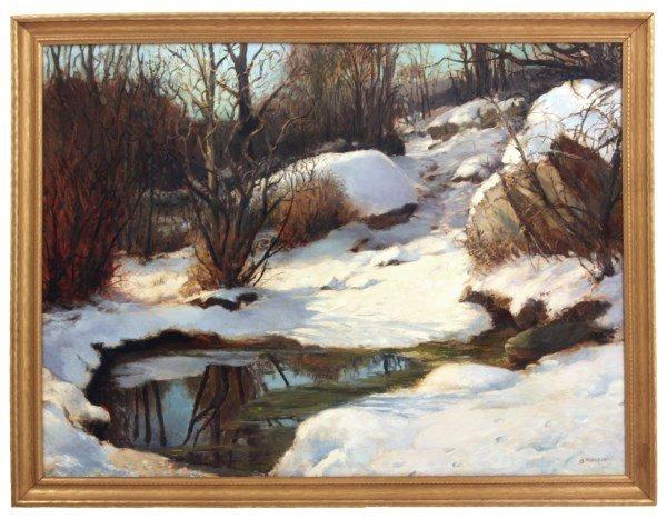 Alex Poplaski O/C Reflection In Winter