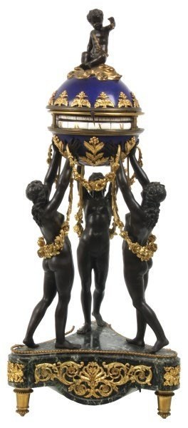 French Figural 3 Graces Annular Clock