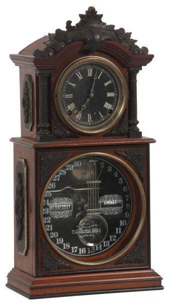 Ithaca 3 1/2 Parlor Model Mantle Clock