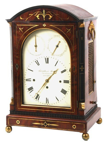 Thwaites & Reed 22 Bell, 7 Tune Bracket Clock