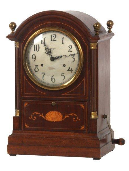 Sonora Chime Mahogany Bracket Clock