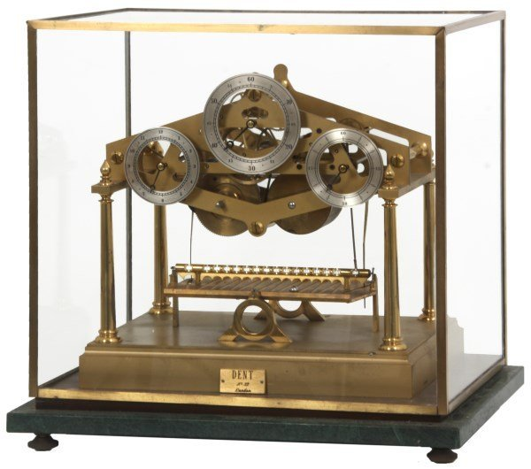 Congreve Rolling Ball Clock by Dent