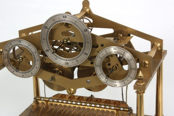 Congreve Rolling Ball Clock by Dent - 3