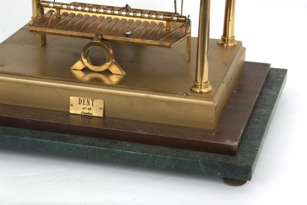Congreve Rolling Ball Clock by Dent - 5
