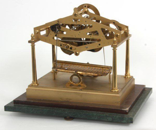 Congreve Rolling Ball Clock by Dent - 8