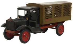 Keystone Pressed Steel Mail Truck Toy