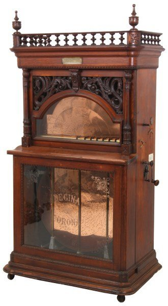Regina 27 In. Automatic Changer Music Box