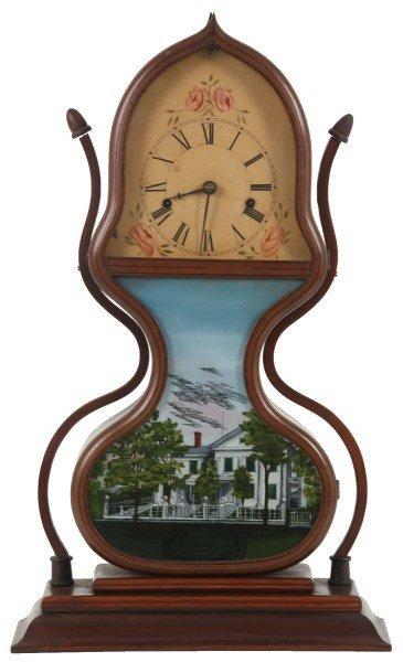 J.C. Brown Model 1 Acorn Shelf Clock