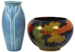 2 Pcs. Art Pottery