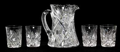 5 Pc Hawkes Water Set