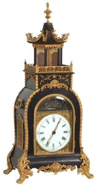 Chinese Animated Bracket Clock