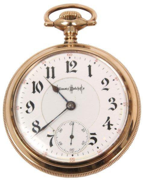 Illinois 21 Jewel Bunn Special Pocket Watch