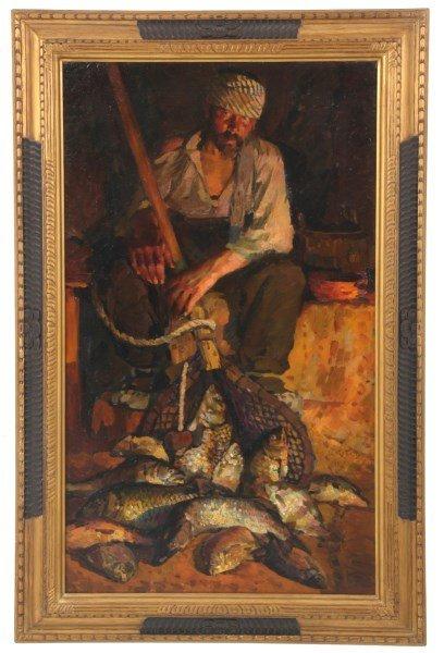 Peter Katov Russian O/C - Fisheman