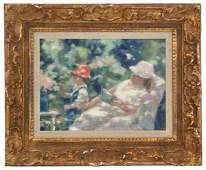 Andre Gisson Impressionist O/C Painting