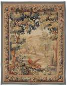 19th C. Scenic Hand Woven Tapestry