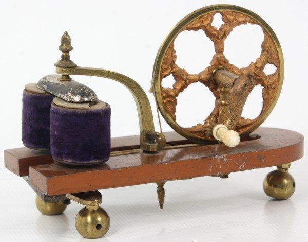 Skeleton Magnetic Hand Crank Machine