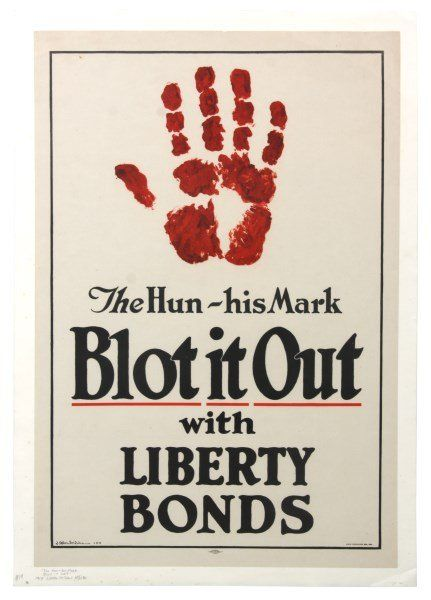 Vintage WWI US Liberty Bond Poster