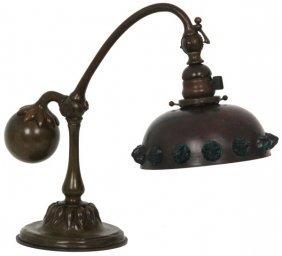 Tiffany Studios Counterbalance Desk Lamp