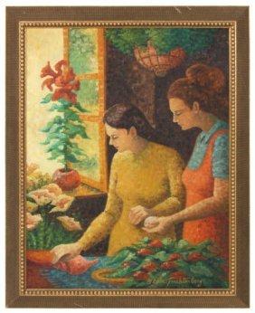Gloria Trachtenberg O/c Painting