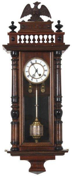 Torsion Pendulum Vienna Regulator Clock