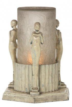 Frankart 3 Figure Table Lamp