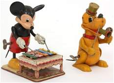2 Mar Toys Disney Windup Toys