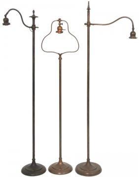 3 Handel Floor Lamps