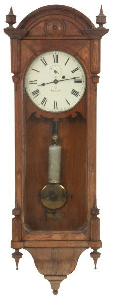 Seth Thomas No. 6 Oak Wall Regulator