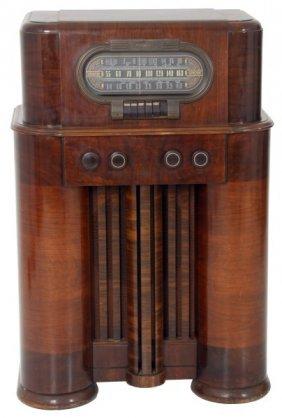 Rca Victor Radio Floor Model 19k