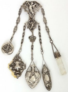English Sterling Chatelaine