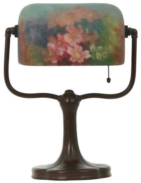 Handel Reverse Painted Desk Lamp