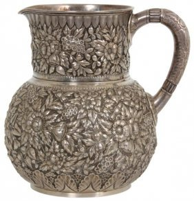 Tiffany & Co. Makers Sterling Pitcher