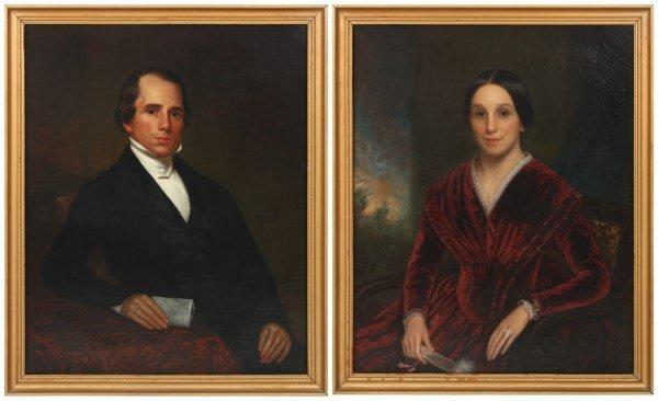 Pr. N. Jocelyn O/C Portraits – Mr. & Mrs. Craft