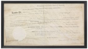 Thomas Jefferson Signed Land Document
