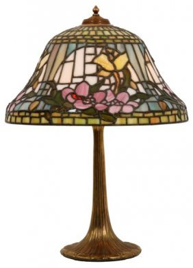 19 In. Wilkinson Nouveau Floral Table Lamp