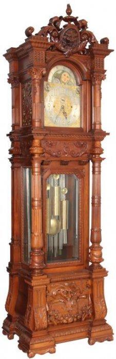 Monumental 9 Tube Grandfather Clock