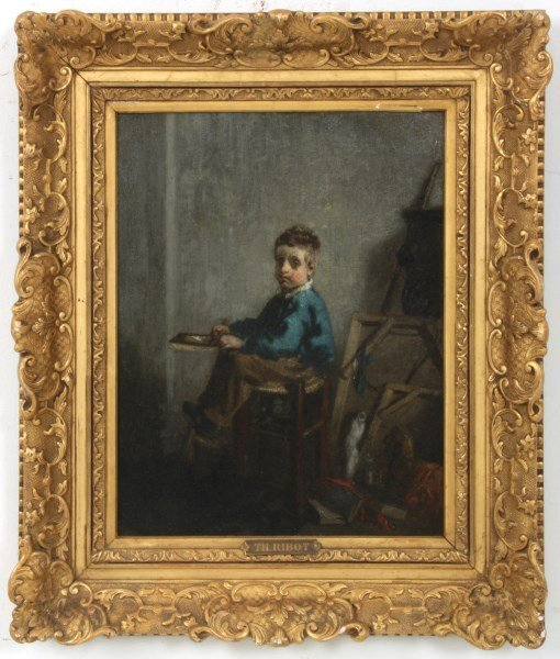 Th. Ribot O/C – The Young Artist