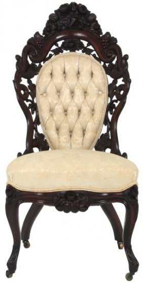 Belter Fountain Elms Rosewood Sidechair