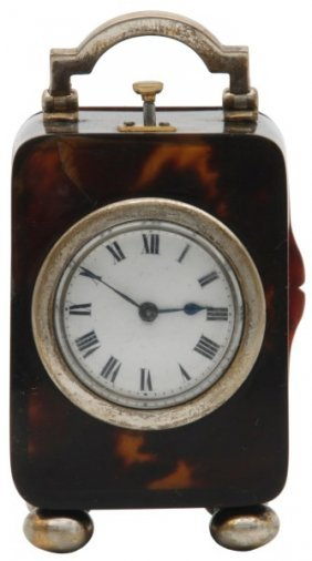 Miniature Quarter Hour Repeater Carriage Clock