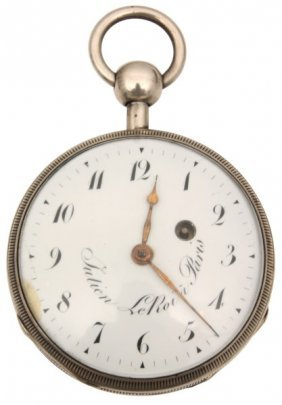Quarter Hour Repeater Fusee Pocket Watch