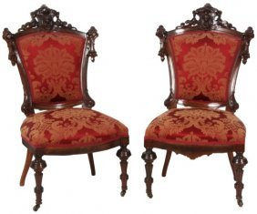 Pr. Jeliff Walnut Sidechairs