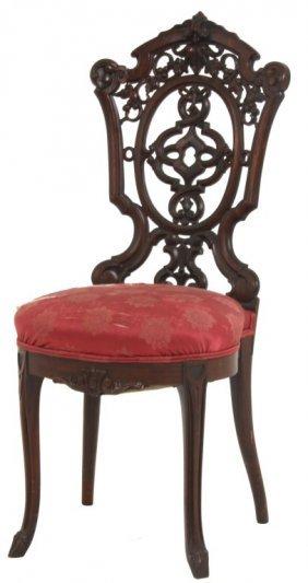 Henkel Laminated Rosewood Sidechair